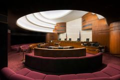 Północny Dakota sąd najwyższy Fotografia Royalty Free
