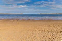 Północny Denny wybrzeże w Tyne i odzieży UK, Zdjęcia Royalty Free