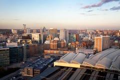 Północny elektrowni miasta podróży infastructure zdjęcia royalty free