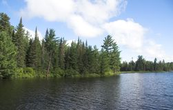 północny jezioro fotografia stock