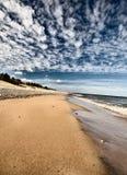 północny Jezioro Michigan przełożony Obraz Stock