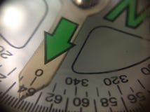 Północny kompasu zakończenie Up Obrazy Royalty Free