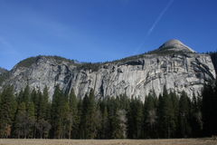 Północny kopuły Yosemite parka narodowego krajobraz Obrazy Royalty Free