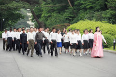 Północny Korea 2011 Fotografia Royalty Free
