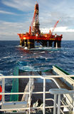 północny kotwicowy target1423_0_ północny morze Zdjęcie Royalty Free