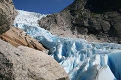 północny lodowiec obraz royalty free