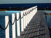 Północny Narrabeen skały basen na Sydney's północnych plażach Zdjęcie Stock