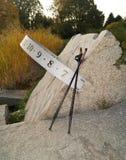 Północny odprowadzenie na jesień parku Obraz Royalty Free
