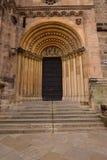 Północny portal ar fassade Cesarska katedra w Bamberg, Niemcy obrazy royalty free