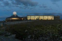 Północny przylądek Hall przy wyspą Mageroya, Norwegia Obraz Royalty Free