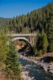 Północny rozwidlenia Payette rzeki most zdjęcie royalty free