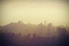 północny wschód słońca Thailand rocznik Obraz Stock