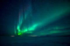 Północnych świateł zorza Borealis Zdjęcie Stock