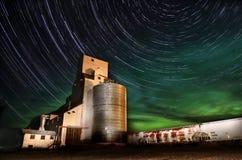 Północnych świateł zorza Borealis fotografia stock