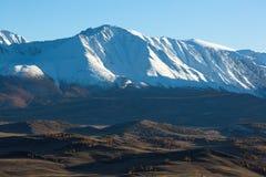 północy grań Altai góry, Altai republika Obrazy Royalty Free