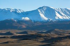 północy grań Altai góry w Altai republice Zdjęcie Royalty Free