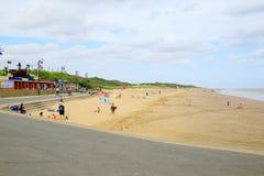 Północy plaża, Mablethorpe Obrazy Royalty Free