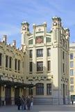 Północy stacja w Walencja, Hiszpania Zdjęcia Stock