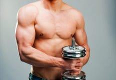 Mięśniowy mężczyzna Obrazy Stock