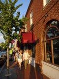 Późne Popołudnie w Georgetown fotografia royalty free
