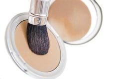 Pó 02 dos cosméticos imagem de stock royalty free