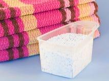 Pó da lavanderia Foto de Stock