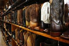 Półka z butami fotografia stock
