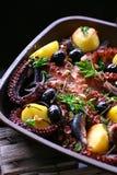 półkowy mieszanka owoce morza Obraz Royalty Free