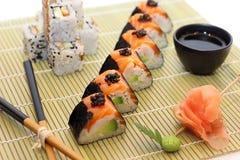 półmiska sushi Fotografia Stock