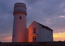 półmrok latarnia morska Fotografia Stock