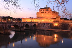 półmrok Rome Fotografia Royalty Free