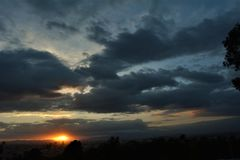 Półmrok w Puebla4 Fotografia Royalty Free