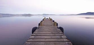 półmroku jetty Fotografia Stock