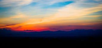 Półmroku niebo Zdjęcie Stock