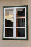 półmroku odbicia okno drewniany Zdjęcie Stock