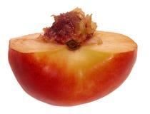pół nektaryna zdjęcia stock