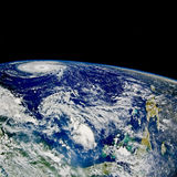 północ huraganu tajemnicy atlantyku Obraz Stock