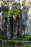 Północna brama Angkor Thome Obraz Stock