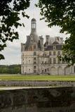 Północna fasada górska chata Chambord Obrazy Royalty Free