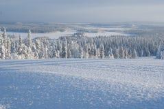 północna jezioro panorama Obrazy Stock