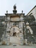Północna miasto brama Chorwacki miasto Trogir Zdjęcia Royalty Free