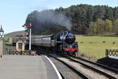 Północna Norfolk kolej, Sheringham Obrazy Royalty Free
