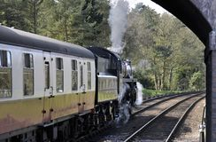 Północna Norfolk kolej, Sheringham Fotografia Royalty Free