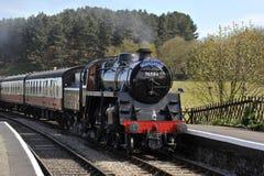 Północna Norfolk kolej, Sheringham Zdjęcie Royalty Free