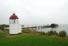 północna podpalana latarnia morska Obrazy Royalty Free