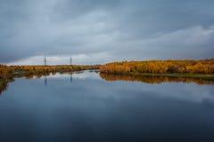 Północna rzeka obrazy stock