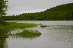 Północna rzeka Fotografia Royalty Free