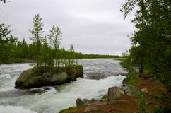 Północna rzeka Zdjęcia Stock