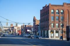 Północna Salina ulica, Syracuse, NY Obraz Stock