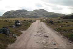 Północna wiejska droga Obrazy Royalty Free
